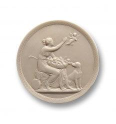 Medallón Venus y amorcillos