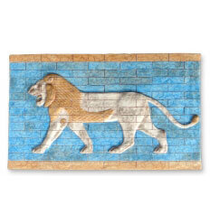 Relieve León de Babilonia