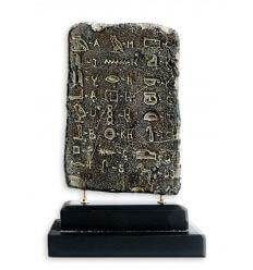 Tablilla de Alfabeto egipcio