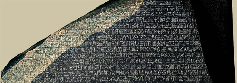 Jeroglífico. Escritura sagrada de los antiguos egipcios
